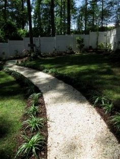 We wanted something that would break up our yard and garden space. We decided on a path to break up the landscape and also help with drainage because of the slope of the back yard. Unique Garden, Easy Garden, Garden Ideas, Hells Kitchen, Path Design, Landscape Design, Design Ideas, Design Inspiration, Beautiful Flowers Garden