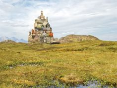 Unusually Beautiful Architectural Collages by Matthias Jung