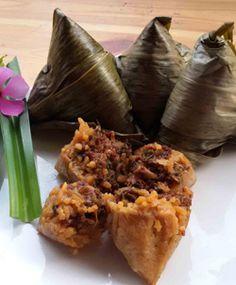 [Resep] Bacang Ketan Ayam Jamur http://www.perutgendut.com/read/bacang-ketan-ayam-jamur/1874 #Resep #Food #Kuliner #Indonesia