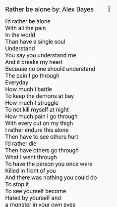 If I could take the pain of everyone else onto myself so no one else had to suffer, I would.
