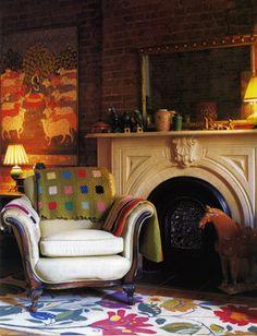 Kim Parker Interiors Designer Showcase - eclectic - living room - new york - Kim Parker Interiors