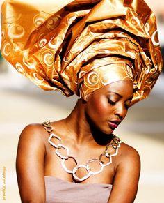 Female Clothes | Naija Style Gele | Nigerian Fashion | The Nahmias Cipher Report