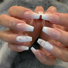 We all want beautiful but trendy nails, right? Here's a look at some beautiful nude nail art. Acrylic Nails Stiletto, Best Acrylic Nails, Gel Nails, Cnd Shellac, Fabulous Nails, Perfect Nails, Gorgeous Nails, Fancy Nails, Cute Nails