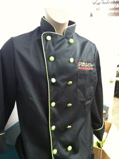 Sr. Sol * embroidery  Love the new chef coats!