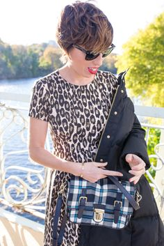 #dresscolorfully shana of the mom edit wears our fall collection