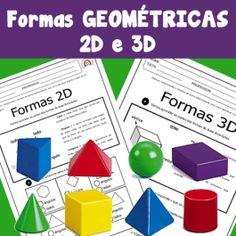 Código 595 Formas geométricas 2d e 3d