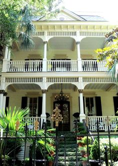 Savannah, GA - The outside -reminds me of  The Lady House in Columbia SC across from The State House.  Love it