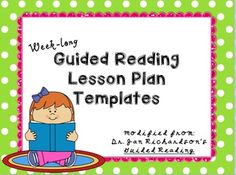 Freebie Update I Recently Revamped My  Day Guided Reading