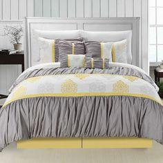 Chic Home Precious 12 Piece Comforter Set & Reviews | Wayfair