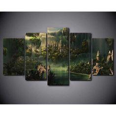Yosemite Paisaje Sunset Multi tela pared arte de imprimir imágenes