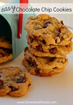 easy and delicious soft batch chocolate chip cookie recipe