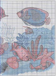 Tropical Fish - 4/6 Solo Patrones Punto Cruz (pág. 367) | Aprender manualidades es facilisimo.com