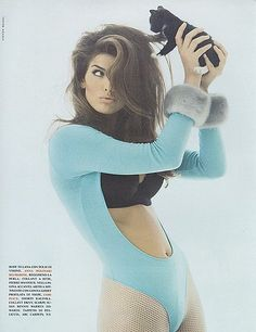 Vintage Editorial Spotlight: Shana Zadrick For Italian Vogue...I miss this era of beautiful, healthy women...not girls.