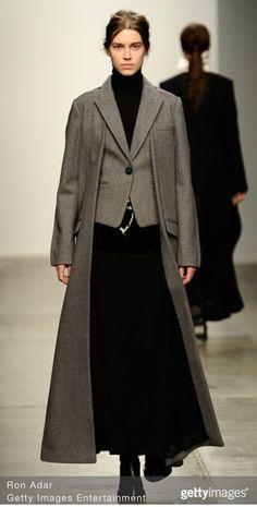 Model Eliza Hartmann for Kaal E Suktae AW15 NYFW 2/12/15