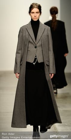 Model Eliza Hartmann for Kaal E Suktae AW15 NYFW 2/12/15