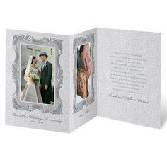 Sophisticated sensation anniversary invitation | wedding anniversary invites at Invitations By Dawn