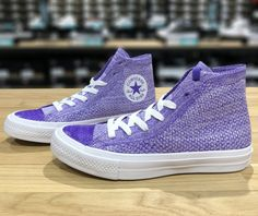 aabc25d0f3c2 CONVERSE CHUCK TAYLOR ALL STAR HIGH TOP PURPLE 157508C