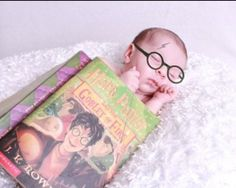 Harry potter baby :) // saw this idea on another photo posted by a friend and now I can't find the actual photo I liked.  This one is still pretty awesome.