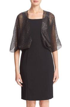 Armani Collezioni Stripe Silk Shrug available at #Nordstrom