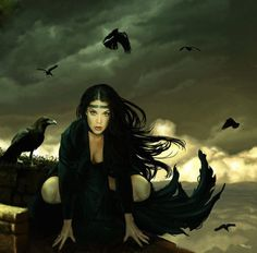 Morrigan..when you look at the darkness, beware, for the darkness looks back.