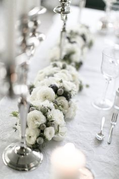 Candles, Crystals & Lace: A Classic White Winter Wedding from Italy - Sara Dambra Photography