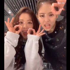 Jisoo y Jennie bailando Somi Kim Jennie, Kpop Girl Groups, Korean Girl Groups, Kpop Girls, Black Pink Songs, Black Pink Kpop, Divas, Blackpink Jisoo, Ella Home