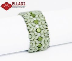 Zoli Bracelet is a beading project with new Zoliduo 2-hole beads. There are two types of Zoliduo beads: left and right oriented. Step by step tutorial.