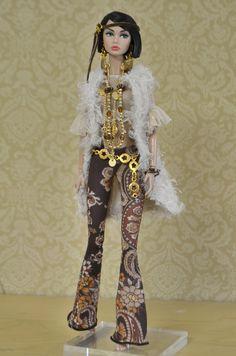 Boho Collection for Poppy parker Diva Fashion, Fashion Dolls, Boho Fashion, Diy Barbie Clothes, Doll Clothes, Vintage Barbie, Barbie Costume, Barbie Mode, Selfies