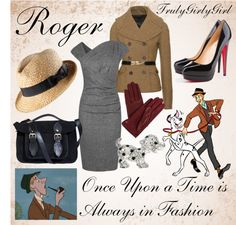 """""""Disney Style: Roger"""" by trulygirlygirl ❤ liked on Polyvore"""