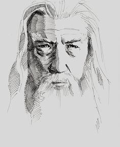 Gandalf by Green-Keks.deviantart.com