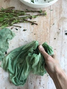 Fresh leaf indigo dyeing – the salt rub method – Rebecca Desnos Natural Dye Fabric, Natural Dyeing, Gel Medium, Shades Of Teal, How To Dye Fabric, Dyeing Fabric, Indigo Dye, Fashion Fabric, Fabric Painting