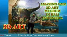 AMAZING DMZ 3D ART MUSEUM IN BALI INDONESIA - META VIDEOS 3d Art Museum, Tv Commercials, Movies Online, Moose Art, Videos, Amazing, Movie Posters, Animals, Animais