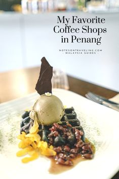 Penang not only has a thriving street food scene rooted in the colorful heritage of the island, there are also dozens of coffee shops waiting to be explored - from the traditional corner shops to minimalist barista cafés to whimsical dessert cafés - let me take you on a tour of my favorite coffee shops in George Town, Malaysia. PS: This guide also contains my favorite street foods in Penang.