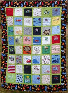 Memorial Bereavement Quilt from Loved One's by BreauxBunchQuilts, $230.00