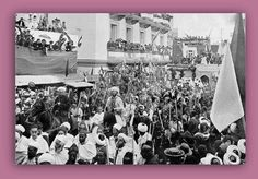 مهدت فرنسا لإحتلال المغرب بعقد اتفاقيات مع كل من إيطاليا و إنجلترا وإسبانيا ، مما أثار غضب ألمانيا التي لها أيضا أطماع استعمارية . في إطار ذلك  قام الإمبراطور الألماني كيوم الثاني بزيارة مدينة طنجة سنة 1905 و ألقى بها خطابا عبر فيه عن ضرورة احترام سيادة المغرب ، و دعا إلى عقد مؤتمر دولي لدراسة المسألة المغربية . وبالفعل عقد مؤتمر الجزيرة الخضراء سنة 1906 .
