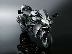 Kawasaki H2, the street version of the H2R revealed last month.