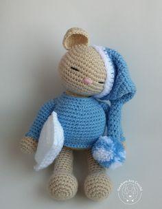 Ursinho de Pijama - Amigurumi