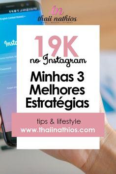 19k no Instagram   Minhas 3 Melhores Estratégias Marketing Digital, Online Marketing, Social Media Content, Social Networks, Make Money Online, How To Make Money, Alta Performance, Instagram Marketing, Design Theory