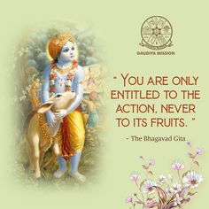 Gaudiya Mission: A missionary organization for preaching Hare Krishna mantra. Spreading spiritual messages of Lord Sri Krishna & Chaitanya Mahaprabhu. Krishna Leela, Krishna Hindu, Radha Krishna Quotes, Radha Krishna Images, Lord Krishna Images, Krishna Love, Hare Krishna, Amazing Inspirational Quotes, Motivational Picture Quotes