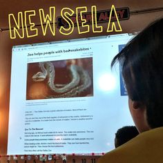 Newsela, A Digital Newspaper For Kids with adjustable reading levels