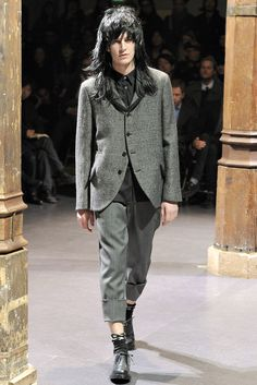 Comme des Garçons Fall 2012 Menswear Collection Slideshow on Style.com