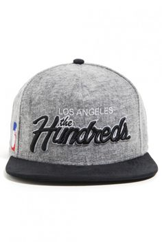 team two strap-back cap ✖ the hundreds 18690376ea3a