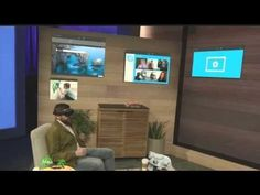 Show your students this new technology!  Microsoft HoloLens demo onstage at BUILD 2015 - YouTube