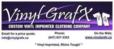 Contact info for VinylGrafX (T-Shirt Company)