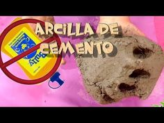 Concrete clay - concrete mix for sculpting (cement, flour, water) Pasta Casera, Papercrete, Cement Crafts, Diy Planters, Pop Tarts, Diy And Crafts, Snack Recipes, Ice Cream, Clay