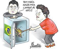 Neste momento de profunda crise Política, Econômica e Social neste Brasil, a demissão do Governo seria a solução mais natural!... Qualquer país desenvolvido faria isso!...
