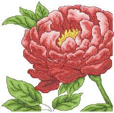 Chrysanthemum cross stitch free embroidery design - Cross stitch machine embrodiery - Machine embroidery forum