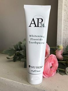 Nu Skin Nuskin Whitening fluoridfreie Zahnpasta New Formula Revi Best Whitening Toothpaste, Whitening Fluoride Toothpaste, Whitening Kit, Nu Skin, Ap 24, Best Coconut Oil, Stained Teeth, Waterproof Makeup, White Teeth