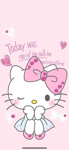 Walpaper Hello Kitty, Hello Kitty Iphone Wallpaper, My Melody Wallpaper, Hello Kitty Backgrounds, Sanrio Wallpaper, Hello Kitty Rooms, Hello Kitty Art, Hello Kitty Birthday, Sanrio Hello Kitty