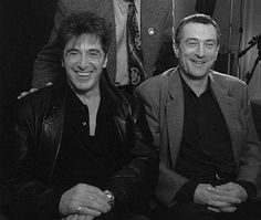 With DeNiro - al-pacino Photo